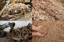 Изделия из отходов деревообработки