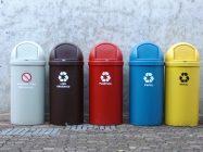 Мусорные баки для раздельного сбора мусора